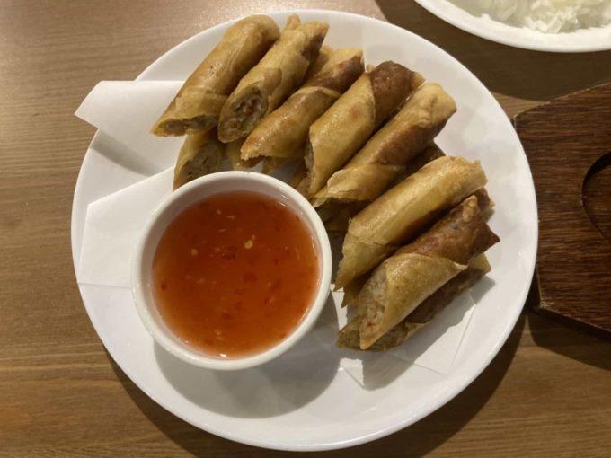 東京・上野のフィリピンレストラン Pangaea(パンゲア) ルンピア・シャンハイ1