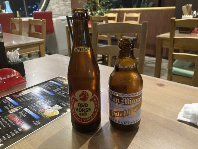 東京・上野のフィリピンレストラン Pangaea(パンゲア) ビール