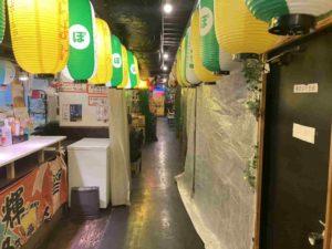 東京・亀戸のフィリピンレストラン フィリピン居酒屋 勇2号 亀戸横丁通路