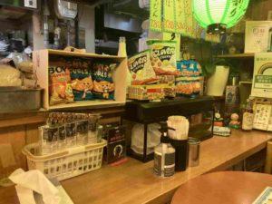 東京・亀戸のフィリピンレストラン フィリピン居酒屋 勇2号 店内カウンター