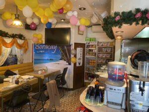 東京・竹ノ塚のフィリピン料理・レストラン ニューハングリー 内装1