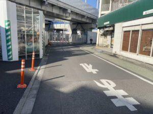 東京・竹ノ塚のフィリピンレストラン カバヤン 道順2