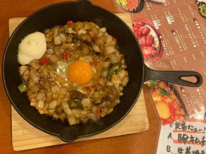 東京・浅草橋のフィリピン料理・レストラン 居酒屋Rin シシグ1