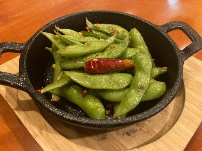 東京・浅草橋のフィリピン料理・レストラン 居酒屋Rin 枝豆