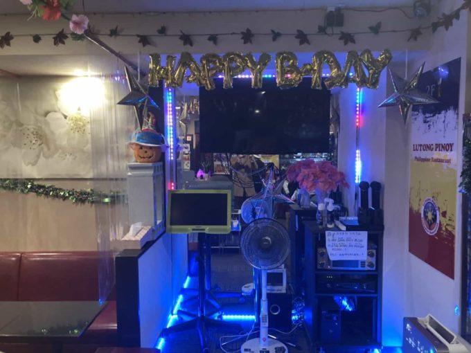 東京の誕生日・クリスマス・忘年会におすすめのフィリピン料理・レストラン 小岩ルートンピノイ 内装1