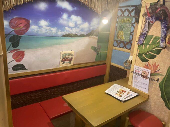 東京・世田谷・千歳船橋のフィリピン料理 アミーズロティサリーチキン 内装3