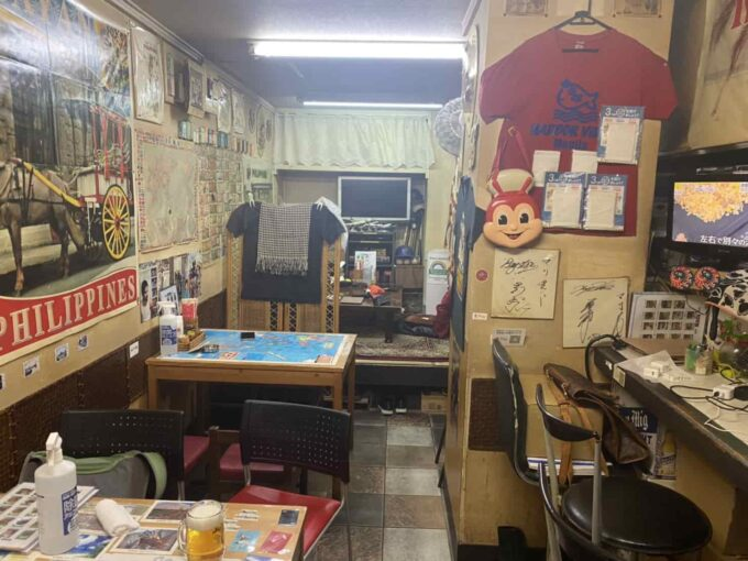 東京・上板橋のフィリピン料理・レストラン カバヤンフィリピン風居酒屋 店内1