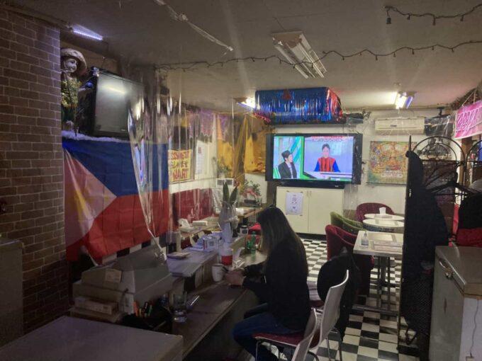 東京都下・久米川のフィリピン料理レストラン ピノイマート 内装4