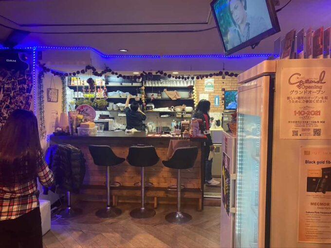 デート・接待におすすめ、東京の高級フィリピン料理 池袋アテン カウンター