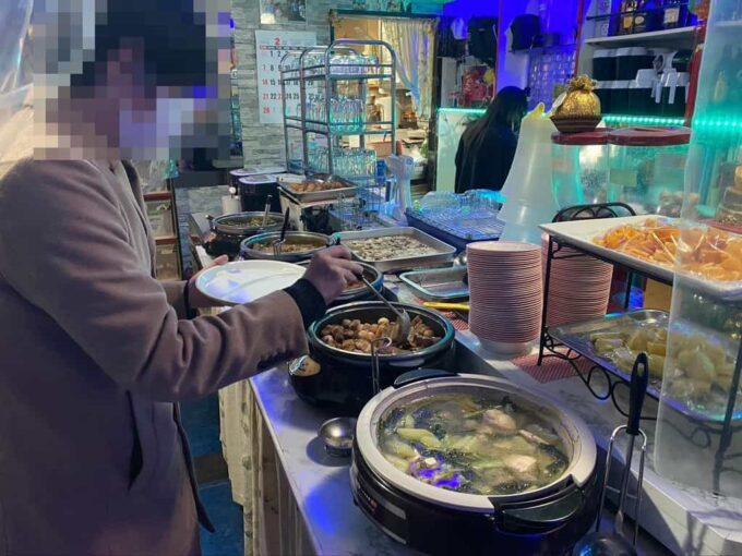 東京・蒲田のフィリピン料理・レストラン 食べ放題 シンディーズレストラン 食べ放題ゾーン