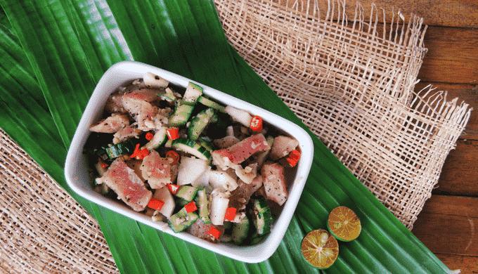 おつまみにおすすめのフィリピン料理 キニラウ・キラウィン