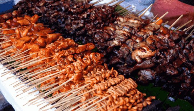 おつまみにおすすめのフィリピン料理 バーベキュー