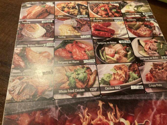 デート・接待におすすめ、東京の高級フィリピン料理 新宿イハワン メニュー2